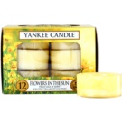 Yankee Candle Flowers in the Sun Teelicht 12 x 9,8 g