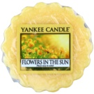Yankee Candle Flowers in the Sun Wachs für Aromalampen 22 g