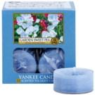Yankee Candle Garden Sweet Pea čajna sveča 12 x 9,8 g