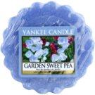 Yankee Candle Garden Sweet Pea vosek za aroma lučko  22 g