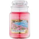 Yankee Candle Garden by the Sea illatos gyertya  623 g Classic nagy méret