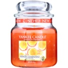 Yankee Candle Honey Clementine ароматизована свічка  411 гр Classic  середня