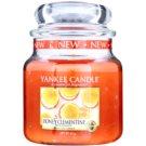 Yankee Candle Honey Clementine vonná sviečka 411 g Classic stredná