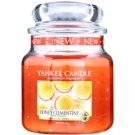 Yankee Candle Honey Clementine lumanari parfumate  411 g Clasic mediu