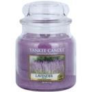 Yankee Candle Lavender illatos gyertya  411 g Classic közepes méret