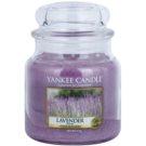 Yankee Candle Lavender ароматизована свічка  411 гр Classic  середня