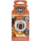 Yankee Candle Leather ambientador para coche 4 ml clip