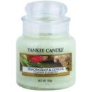 Yankee Candle Lemongrass & Ginger vela perfumado 104 g Classic pequeno