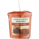 Yankee Candle Simply Cinnamon Votivkerze 49 g