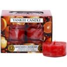 Yankee Candle Mandarin Cranberry čajna sveča 12 x 9,8 g