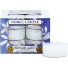 Yankee Candle Midnight Jasmine Чаена свещ 12 x 9,8 гр.