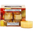 Yankee Candle Mango Peach Salsa čajová sviečka 12 x 9,8 g