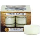 Yankee Candle My Serenity teamécses 12 x 9,8 g