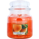 Yankee Candle Orange Splash vela perfumado 411 g Classic médio