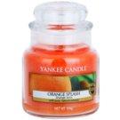 Yankee Candle Orange Splash świeczka zapachowa  104 g Classic mała