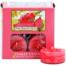 Yankee Candle Pink Dragon Fruit vela de té 12 x 9,8 g