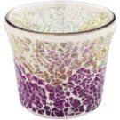 Yankee Candle Purple & Gold Crackle Glaskerzenhalter für Votivkerzen