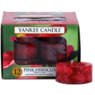 Yankee Candle Pink Hibiscus teamécses 12 x 9,8 g