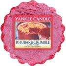 Yankee Candle Rhubarb Crumble illatos viasz aromalámpába 22 g