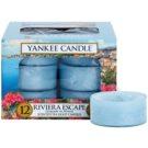 Yankee Candle Riviera Escape vela do chá 12 x 9,8 g