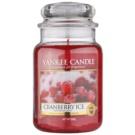 Yankee Candle Cranberry Ice ароматизована свічка  623 гр Classic велика