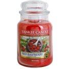 Yankee Candle Red Raspberry ароматна свещ  623 гр. Classic голяма