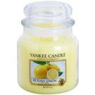 Yankee Candle Sicilian Lemon Duftkerze  411 g Classic medium