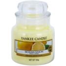 Yankee Candle Sicilian Lemon Duftkerze  104 g Classic mini