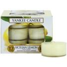 Yankee Candle Sicilian Lemon świeczka typu tealight 12 x 9,8 g