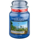 Yankee Candle Blue Summer Sky Duftkerze  623 g Classic groß