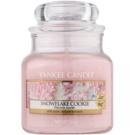 Yankee Candle Snowflake Cookie ароматизована свічка  104 гр Classic  маленька
