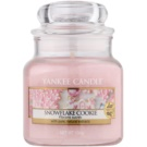 Yankee Candle Snowflake Cookie Scented Candle 104 g Classic Mini