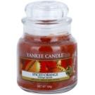 Yankee Candle Spiced Orange vela perfumado 104 g Classic pequeno