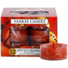 Yankee Candle Spiced Orange Teelicht 12 x 9,8 g