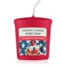 Yankee Candle Strawberry Shortcake Votivkerze 49 g