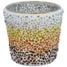 Yankee Candle Sunset Mosaic szklany świecznik na sampler