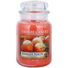 Yankee Candle Summer Peach Duftkerze  623 g Classic groß