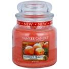 Yankee Candle Summer Peach lumanari parfumate  411 g Clasic mediu