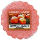 Yankee Candle Summer Peach cera para lámparas aromáticas 22 g