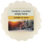 Yankee Candle Sunlight on Snow vosek za aroma lučko  22 g