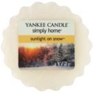 Yankee Candle Sunlight on Snow Wachs für Aromalampen 22 g