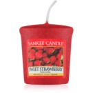 Yankee Candle Sweet Strawberry votivna sveča 49 g