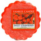 Yankee Candle Sweet Strawberry cera para lámparas aromáticas 22 g