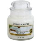 Yankee Candle Shea Butter vela perfumada  104 g Classic pequeña