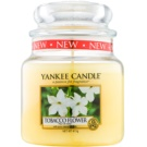 Yankee Candle Tobacco Flower Duftkerze  411 g Classic medium