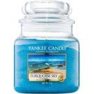 Yankee Candle Turquoise Sky ароматизована свічка  411 гр Classic  середня
