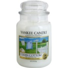 Yankee Candle Clean Cotton ароматизована свічка  623 гр Classic велика
