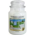 Yankee Candle Clean Cotton vonná svíčka 623 g Classic velká