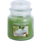 Yankee Candle Vanilla Lime vonná svíčka 411 g Classic střední