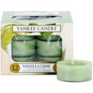 Yankee Candle Vanilla Lime Teelicht 12 x 9,8 g